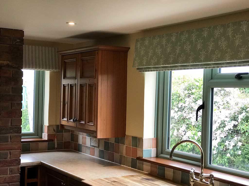 blackout blinds in kitchen
